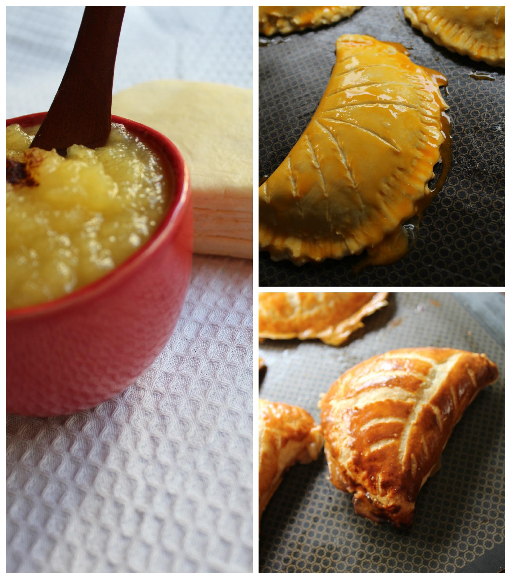 Les Chaussons aux Pommes, French Apple Turnovers | La Petite Panière